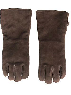 Restoration Hardware Welding Gloves Leather Insulation Protection Long Cuffs
