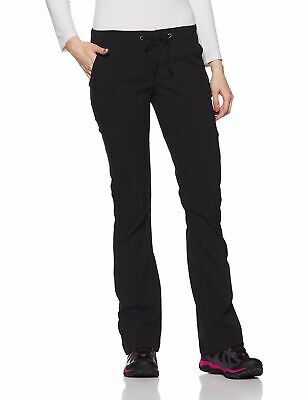 Columbia Womens Pants Black Size 2 Short Bootcut Omni-Shield Stretch $75 190