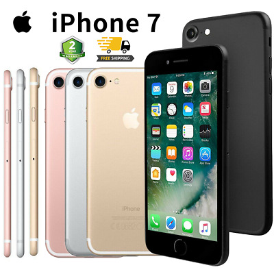 Apple iPhone 7 32/128GB Gold Rose Black Silver Nuevo Smartphone 12Meses