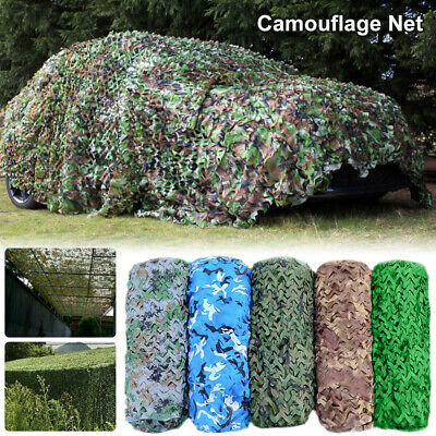 UK Camo Net Cover Netting Hunting Army Camp HOT
