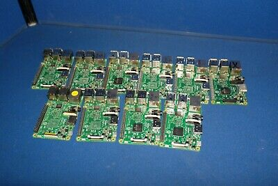 Raspberry PI 3 Model B V1.2 Lot of 10 Faulty Boards Spares/Repair Boards (B5R4)