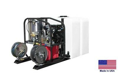 PRESSURE WASHER Commercial - Hot, Cold & Steam - 5 GPM - 3000 PSI  Vanguard Skid