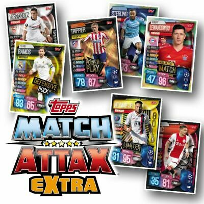 Topps Match Attax Extra 2019/20 - Individual Hat-Trick Heroes/100 Club Cards