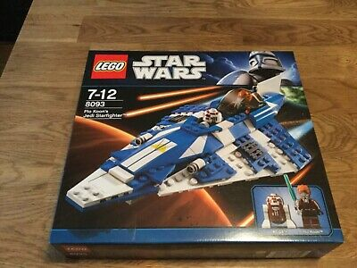 Star Wars lego plo loons Jedi starfighter item 8093 factory sealed new in box