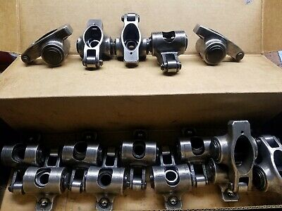 Norris Stainless Steel Roller Rocker Arms SBC 1.5,7/16