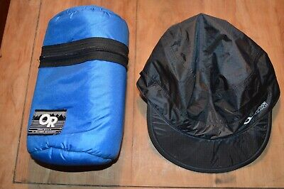 OUTDOOR RESEARCH OR Black Nylon  HAT and Insulated Waist pack