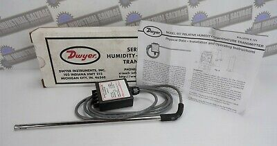 DWYER Humidity-Temperature Transmitter Series/Model 657 (NEW in BOX)