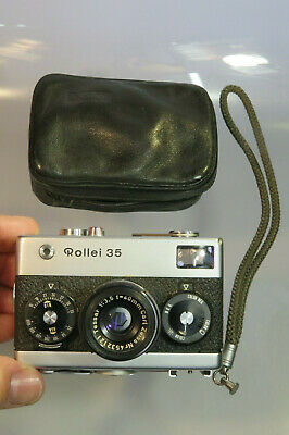 Rollei 35 Carl Zeiss Tessar 3,5/40mm Made in Germany