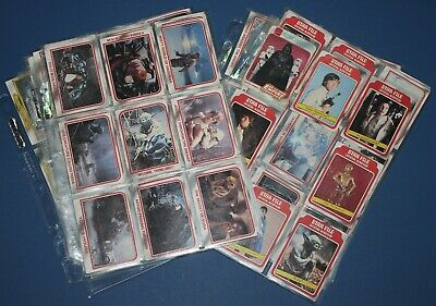 1980 Scanlens The Empire Strikes Back Near Complete Set 131/132 Cards