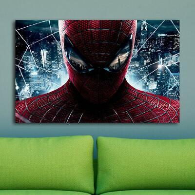 Spide rman HD Canvas prints Painting Home decor Picture Room Wall art Poster