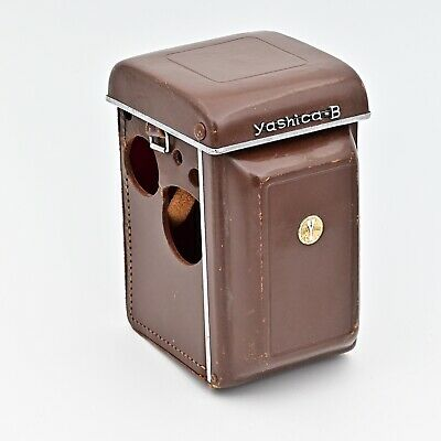 Yashica B Fitted Leather Eveready Case Brown ***SUPER RARE***