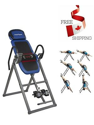 Inversion Therapy Table W/ Isolated Heat & Vibration Multi Therapeutic Massage