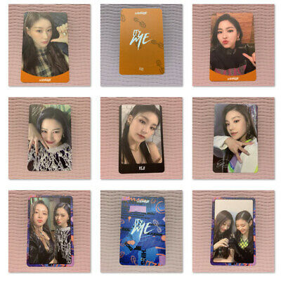 ITZY Official PHOTOCARD Only 2nd Mini Album IT'z ME Photo Card Select Option