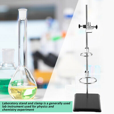 51cm Laboratory Stands/Support Flask Platform Clamp Stand Condenser Hold