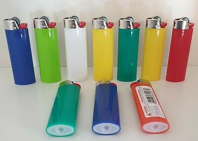 Bic J26 Maxi Lighters Genuine - 10 Pack
