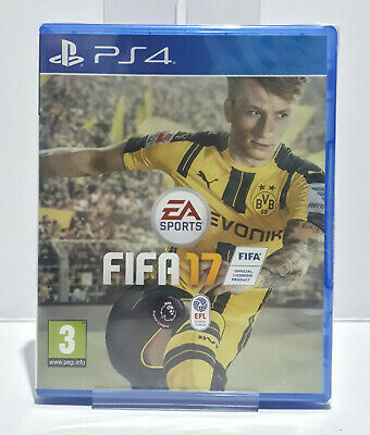 Fifa 17 (PS4, 2016) Region Free SEALED Same Day Dispatch 1120