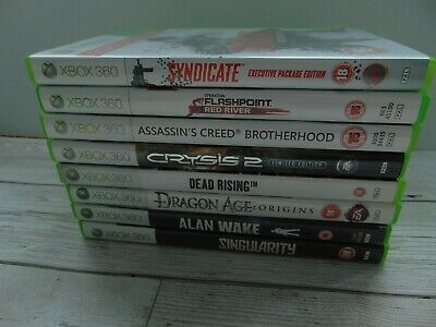 8 XBox 360 Games Job Lots Various Titles