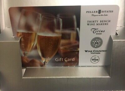 $100 VALUE FOR $80 - Vineyards and Wine GiftCard