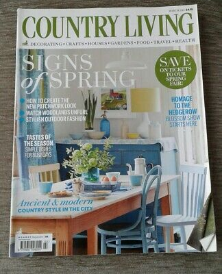Country Living magazine March 2015