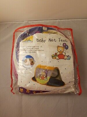 Baby Pop Up Tent With Netting And Zippers
