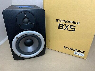 M-AUDIO STUDIOPHILE BX5 Bi-Amplified Reference Monitor (Single) Faulty C045