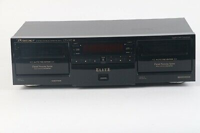 Pioneer CT-05D Stereo Double Cassette Deck Player