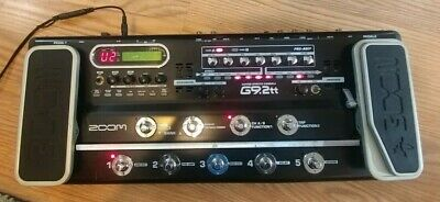 Zoom G9.2tt Multi-Effects Guitar Effect Pedal. TWO (2) Preamp tubes !