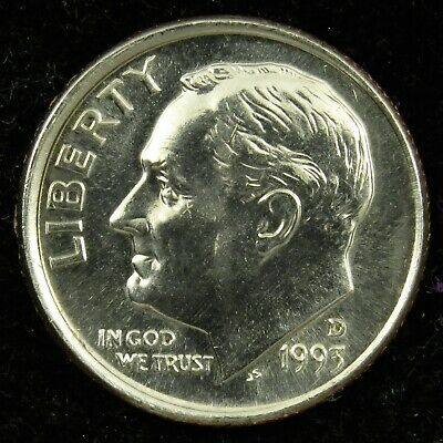 1978 P Roosevelt Uncirculated Dime ~ Raw Coin from Bank Roll