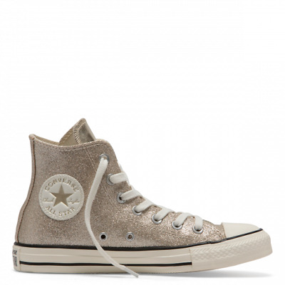 CONVERSE SHINY ALL Star Lo Ox,SilverBlue, Lace Leather