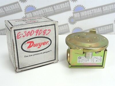 DWYER Pressure Switch PART# 1910-1 (NEW in BOX)