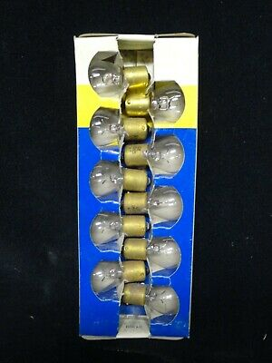 General Electric - Miniature Lamps - Lot Of 10 - Part Number 1665 - New In Box