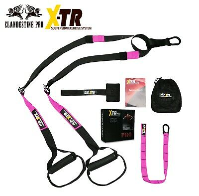 X-TR | X Suspension Straps | Resistance Strength Training Exercise MMA YOGA