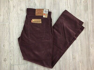 Levis 505 Purple Cotton Pants Size 10 Mis M NWT