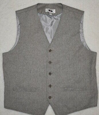 JOSEPH ABBOUD Men's Vest Lined Waistcoat Dress Suit Separate Formal - XL