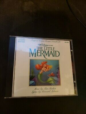 Vintage Disney The Little Mermaid Original Motion Picture Soundtrack CD 1989