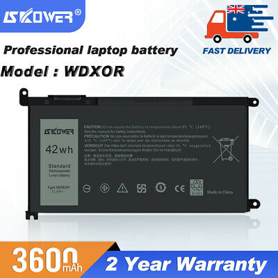 42Wh WDX0R Battery For Dell Inspiron 13-5378 5368 7378 15-5567 7569 7579 5767