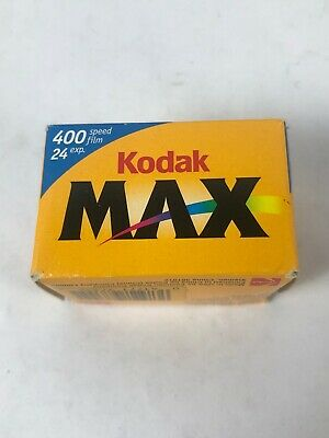 Kodak Max Versatility 400 Film 24 Exposures. Exp 04/2004