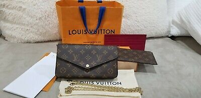 Brand New Auth 2019 Louis Vuitton  Pochette Felicie Crossbody bag + 2 INSERTS