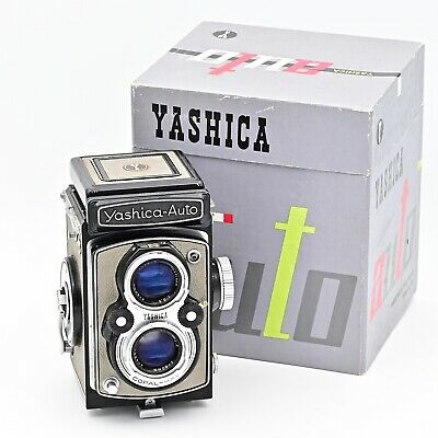 Rare Yashica-Auto (YashicaMat) Twin Lens TLR 120 6x6 Film Camera. *IN BOX*