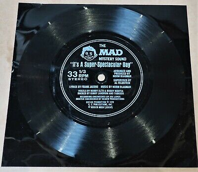 The Mad Mystery Sound * It's A Super Spectacular Day * 45Rpm * 1979