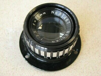 Beslar F-75mm 3.5 Enlarging lens