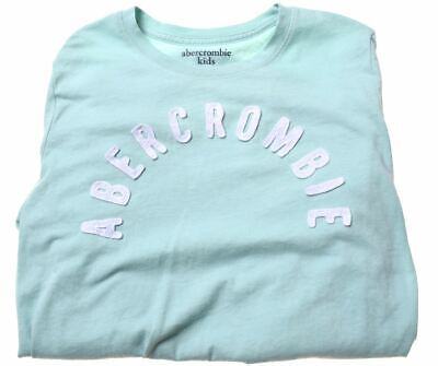 ABERCROMBIE & FITCH Girls Top Long Sleeve 13-14 Years Green Cotton  AC18