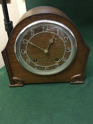 English Garrard Quality Chime Or Strike Mantle Clock