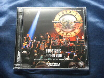 Guns 'N' Roses Live At The Apollo CD 3 Discs 31 Tracks Moonchild Records Music