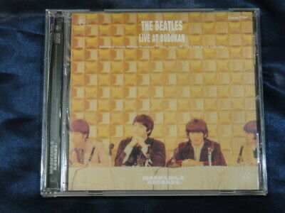 The Beatles Live At Budokan B Cover CD 1 Disc 26 Tracks Moonchild Records Music