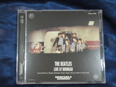 The Beatles Live At Budokan A Cover CD 1 Disc 26 Tracks Moonchild Records Music