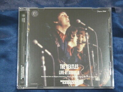 The Beatles Live At Budokan C Cover CD 1 Disc 26 Tracks Moonchild Records Music