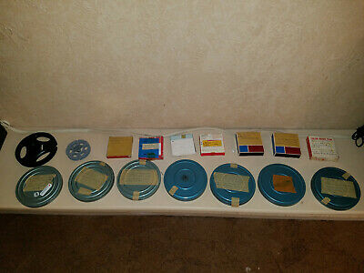Lot of 8mm home movies and vacation movies