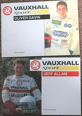 Oliver Gavin + Jeff Allam, Vauxhall Sport card (issued 1993)