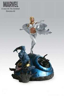 Sideshow Toys X-Men vs. Sentinel Diorama #2 (Beast & White Queen) EXCLUSIVE